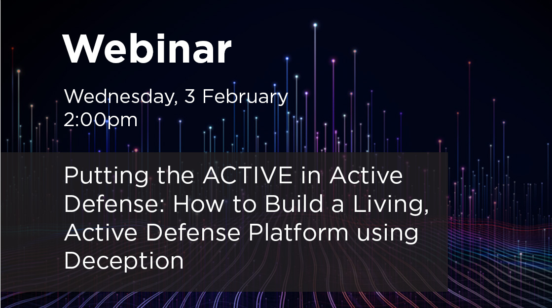 TrapX Active Defense Webinar